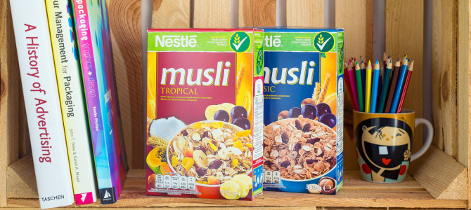 [BRANDING] Nestlé musli (Tropical / Basic)