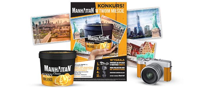 Wakacyjny konkurs MANHATTAN
