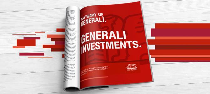 Gościnny projekt dla Generali Investments TFI