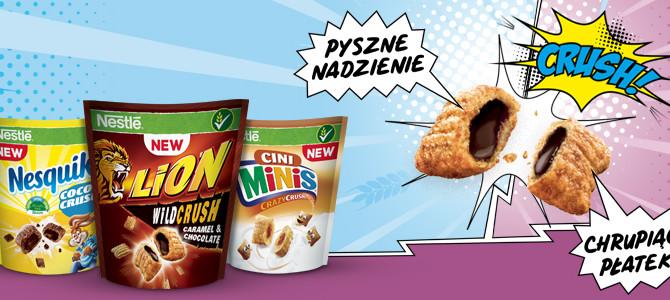 Piorunująco chrupiąca kreacja Nestlé