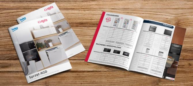 Katalog produktowy do salonów Agata